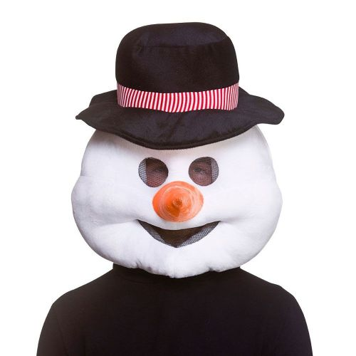 Snowman Head Christmas Fancy Dress